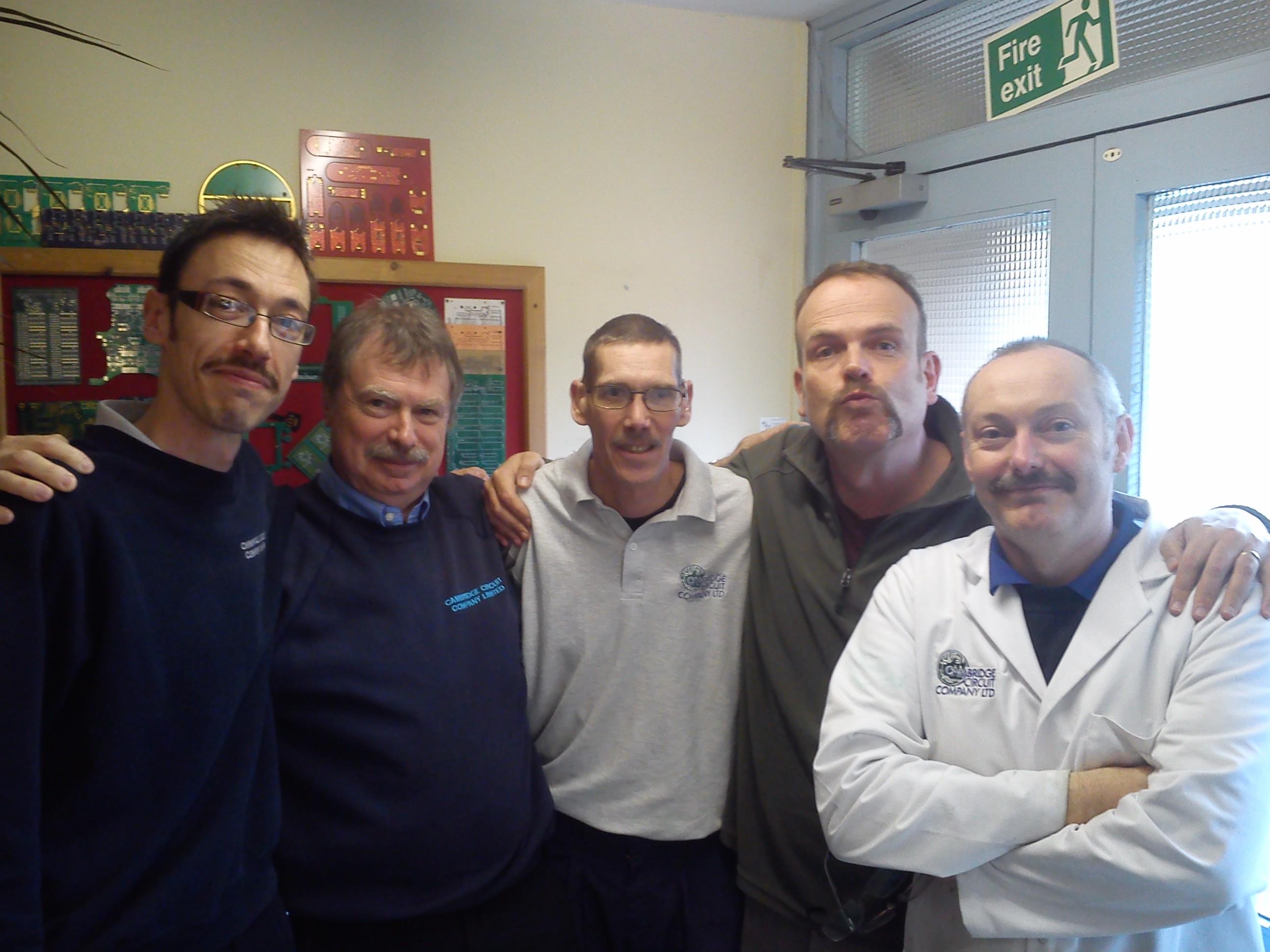 Movember Team